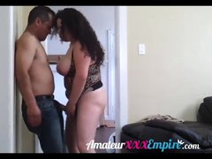 Latin milf fucked by plumber