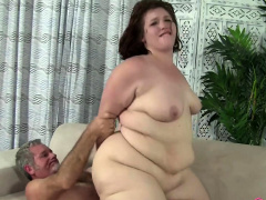 BBW Cherie just about older guy