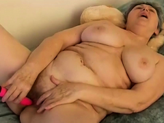 BBW Grannies and plaything sex compilation