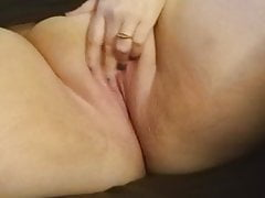 Bbw carrying-on with pussy