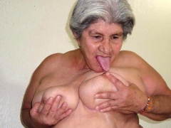 HelloGrannY Slideshow Poised Latin Granny Pics