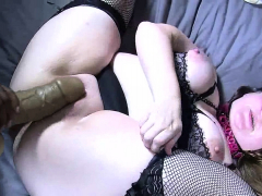 Bbw doll in stockings fucked hardcore in fat pussy