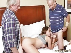 Old fat young and two guys fuck girl Applying Dukke