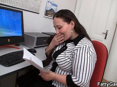 Free HD BBW tube Office