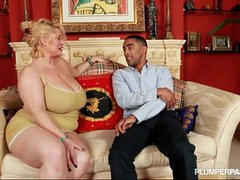 BBW Superstar Samantha 38G Fucks Sex-crazed Dismal Fan