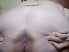 Fat Milf Spreading Botheration